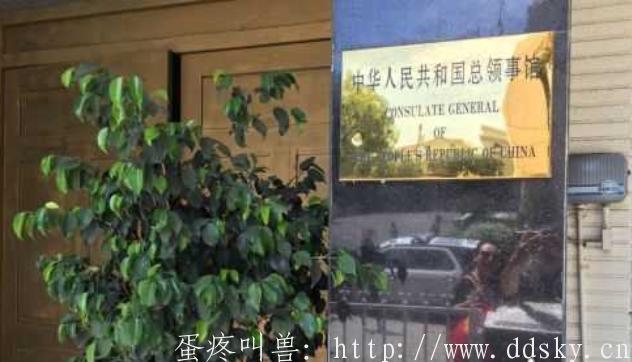 中国驻洛杉矶总领事馆并自杀的中国枪手