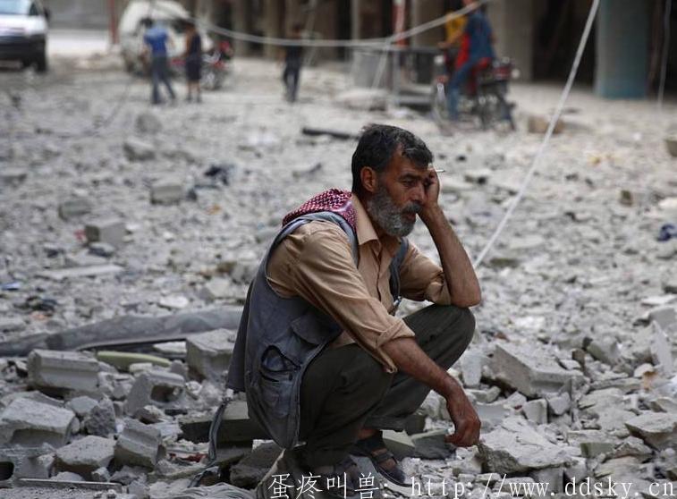 美英法空袭叙利亚让叙利亚没有了春天